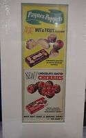 Original 1955 Vintage Advert mounted ready to frame Paynes Poppets