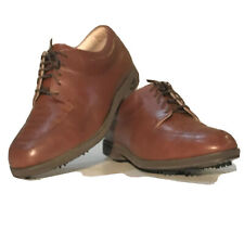 Women's FootJoy Europa Collection Brown Leather Golf Shoes Size 7.5 W (99267)