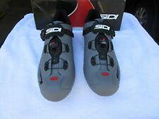 2020 SIDI Wire 2 Carbon Road Cycling Shoes Matte Grey/Black Size 46.5