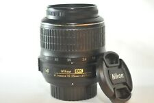 Nikon DX AF-S VR Nikkor 18-55mm G lens for D60 D7500 D3400 D3300 D5600 D7200 D90