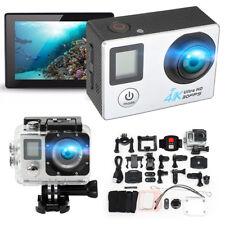 A1 Dual Screen 2'' 170° 4K1080P Ultra HD WiFi Sports Action Camera DV Mini Cam