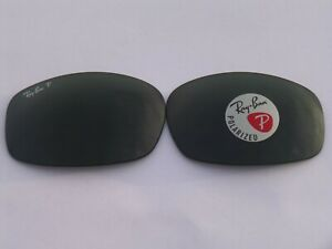 New Ray-Ban RB4089 Balorama Replacement Lens Polarized Green 62MM 100% Authentic