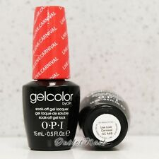 OPI GelColor Brazil Glamazons Collection 2014 - LIVE LOVE CARNAVAL GC A69