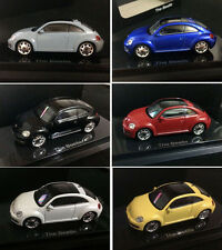 NEW Kyosho 1/64 DieCast Model - VW VolksWagen 2014 beetle - 6 SET