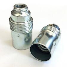 Fassung E14 Gewindemantel M10x1 weiß 3-teilig Leuchtenfassung Thermopl E604310