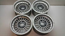 BMW 5 6 7 SERIES O.Z OLD SCHOOL ALLOYS WHEELS SET  0167A KBA41000  H2E10 / 7JX14