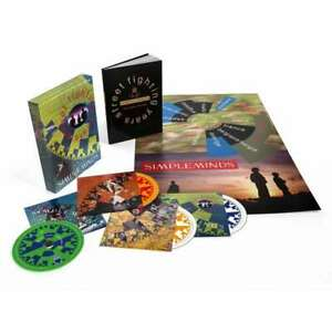 Simple Minds - Street Fighting Years Neuf 4CDs Coffret