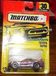 Matchbox Super Fast 1996 #30 Toyota Supra NIP