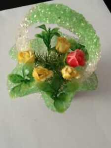 Handmade Decorative Gift Art Glass Vase Flower Home Room Table