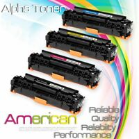 4-pk Toner Set For HP 305X LaserJet Pro 300 M375 400 Color M451 MFP M475 CE410X