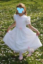 Anna S Kommunionskleid Blumenmädchenkleid Geschwisterkleid weiß Gr. 128