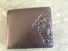 VERSACE MENS Wallet 100% genuine leather RRP $215