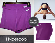 "NWT Nike Pro Hypercool 3"" Training Shorts Fuchsia 776508-556, Run~Dance~Yoga, Sm"