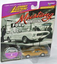 Mustang Classics - 1963 FORD MUSTANG II - gold met - 1:64 Johnny LIghtning