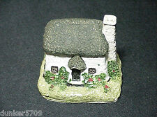 English Style Cottage Minature Plaster Type 2 1/4 Inches High