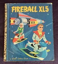 FIREBALL  XL5  LITTLE GOLDEN BOOK  1964  A COPY  FIRST EDITION  546