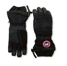 Canada Goose NORTHERN Down 525 Fill Black Grey Ski Snowboard Gloves Mens 5156M