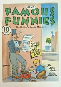 Famous Funnies #62 (Cover Only) Eastern Color Printing Company