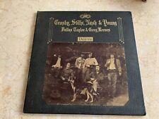 CROSBY, STILLS, NASH & YOUNG DEJA VU VINYL RECORD 1970 RELEASE ATLANTIC RECORDS