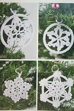 Christmas Snowflakes Decorations Crochet Pattern (CK003)