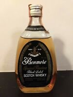 Benmore Black Label Special Reserve Very Old Scotch Whisky 75cl 40% Vol Vintage