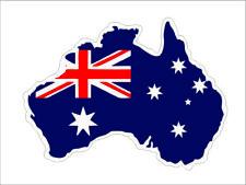 Car Laptop Macbook Vinyl Sticker Decal Australian Australia Map Flag Car Decor