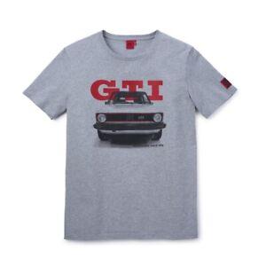 VW GOLF MK1 GTI 1976 MEN'S XXXL GREY T SHIRT - GENUINE VOLKSWAGEN MERCHANDISE