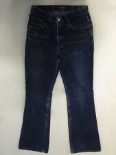 Highlands  Jeans Hose Schlaghose Dunkelblau Stonewashed W28 L32