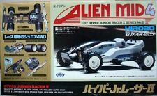 MARUI VINTAGE MINI 4WD HIROBO Alien Mid4 Hyper Jr. Racer II JAPAN MADE N/TAMIYA