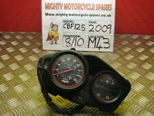 2009 HONDA CBF 125 CBF125 SPEEDO CLOCKS INSTRUMENTS (M43)