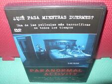 PARANORMAL ACTIVITY - DE CULTO -  dvd
