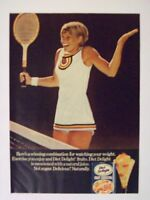 1974 Diet Delight Fruit Cocktail Sexy Woman Magazine Print Advertisement Page