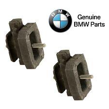For BMW E60 545i E63 E64 645Ci Automatic Pair Set of 2 Transmission Mounts OES