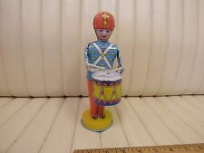 1940s J. Chein Tin Lithographed Wind Up Toy Drummer Boy N/R
