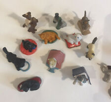 Lot Of Vintage 1994 M.E.G. MEG Toy Cat and Puppy Kitty in My Pocket PVC Figures