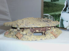 KING AND COUNTRY SP25 MACHINE GUN BUNKER DEFENCE WORKS TOY SOLDIER DIORAMA