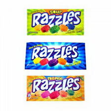 Razzles Triple Pack, Tropical, Original & Sour! American Candy, Sweets, UK Store
