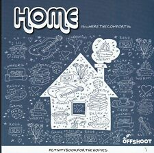 ADULT PUZZLE COLOURING ACTIVITY BOOK: HOME - MINDFULESS - CALM