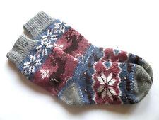 New Warm Hand Knitted Natural Sheep Wool Yarn  Women Socks  Small Size