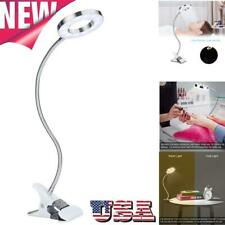 7W Salon Tattoo LED Desk Lamp Home Table Lamp with Clip Night Light + USB Port