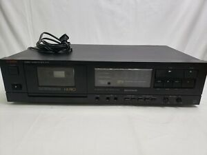 Luxman K-111 Stereo Cassette Tape Deck Player/Recorder HX PRO Dolby NR Works