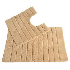 Bathroom Mat Set Linear Stone Allure NEW (O)