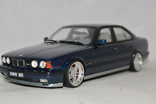 d61 BMW 5er M5 E34 LIMOUSINE BLUE modified 1:18 OTTO-MODELS OT576 VERY RARE