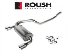 2016 2018 Focus Rs Roush 422102 Passive Cat Back Dual Exhaust System W 45 Tips Fits Focus