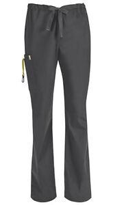 Scrubs Code Happy Men's Drawstring Cargo Pant Short 16001AS PWCH Pewter