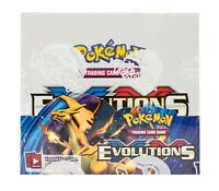10 XY Evolutions Booster Pack Lot - Factory Sealed From Box Invest?!