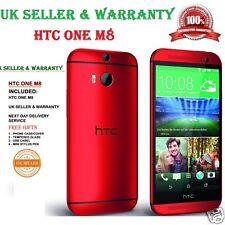 HTC One M8 16GB RED Unlocked Smartphone UK WARRANTY ***GRADE A+++