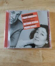 "Mitsuko Uchida/Pierre Boulez ""Schoenberg Piano Concerto/Berg/Webern"" 2001 CD"