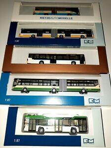 5 Teile, Rietze MB Citaro, AWM, Raritäten, Verkehrsbetriebe Regiobus, Linienbus