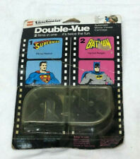 1978 Vintage DC Comics Superman & Batman ViewMaster Double Vue Movie Cartridge